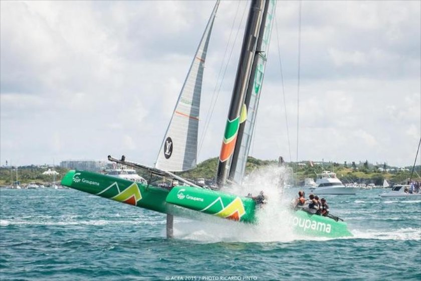 Team France in Bermuda America's Cup World Series