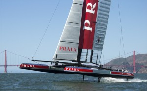 America's Cup Challenger from Italy Luna Rossa (ITA)