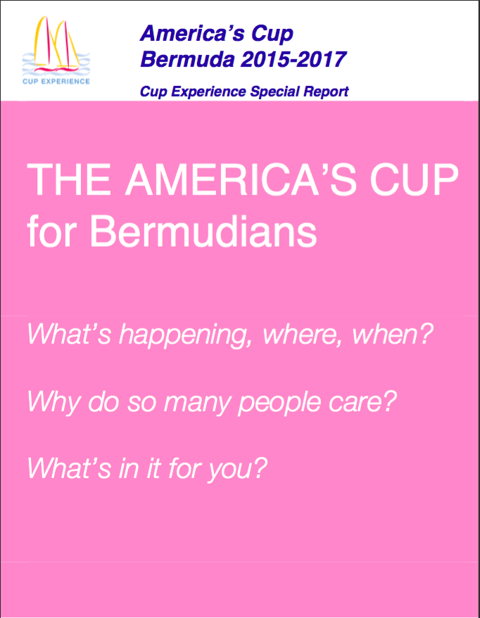 America's Cup for Bermudians