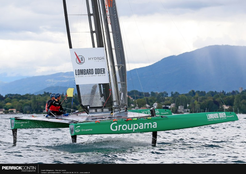 America's Cup Groupama Team France Defends C Class World Championship