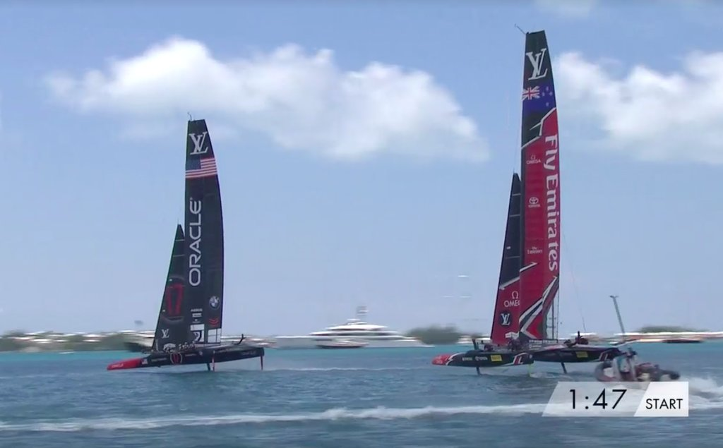 Louis Vuitton America's Cup Yachts