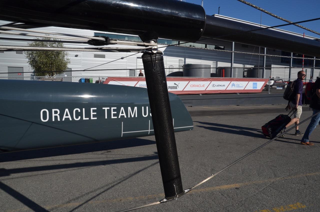 America's Cup - AC45 yacht - forward kingpost