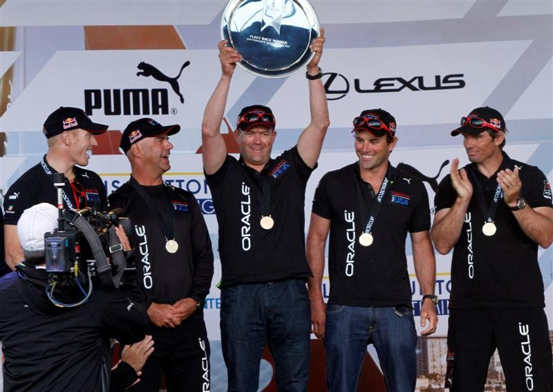 Oracle Team USA wins America's Cup World Series - San Francisco