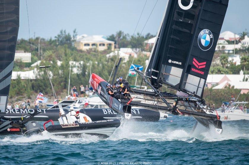 Oracle Racing in Bermuda America's Cup World Series