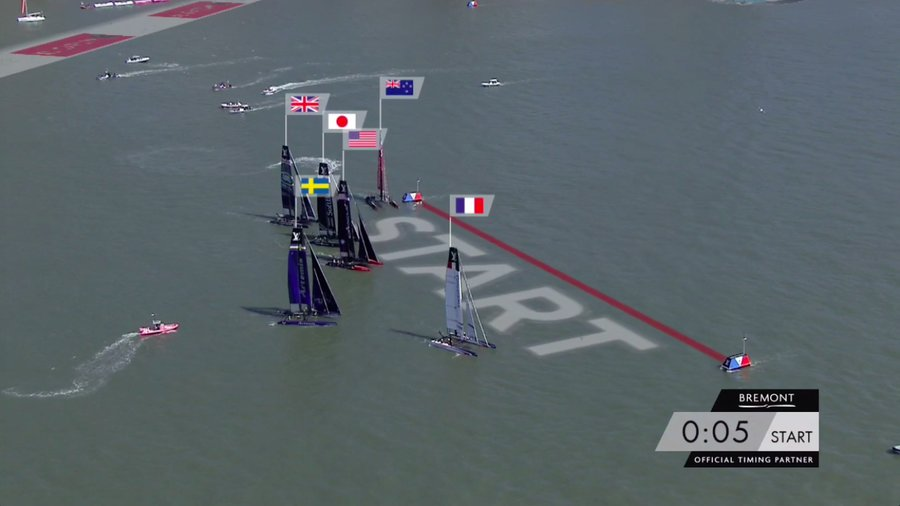 Team New Zealand in trouble at start of America's Cup World Series in New York