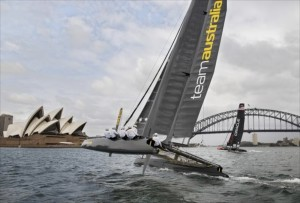 Team Australia - Original America's Cup 2017 Challenger of Record. Withdrew