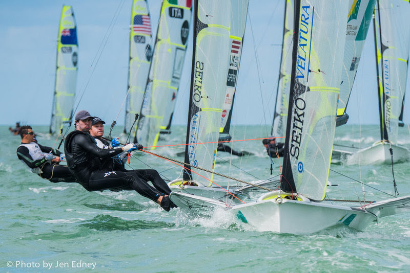 2016 Nacra 17, 49er and 49erFX World Championships in Clearwater, Miami