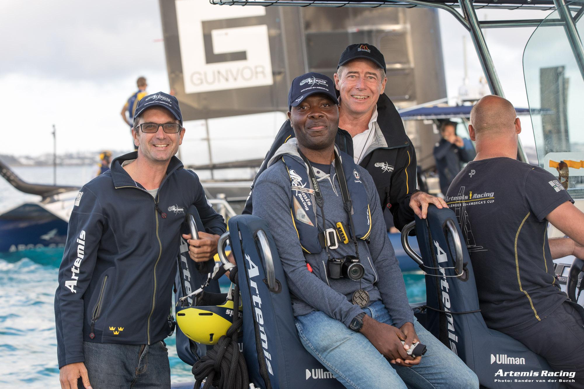 MyIslandHomeBDA at Artemis Racing