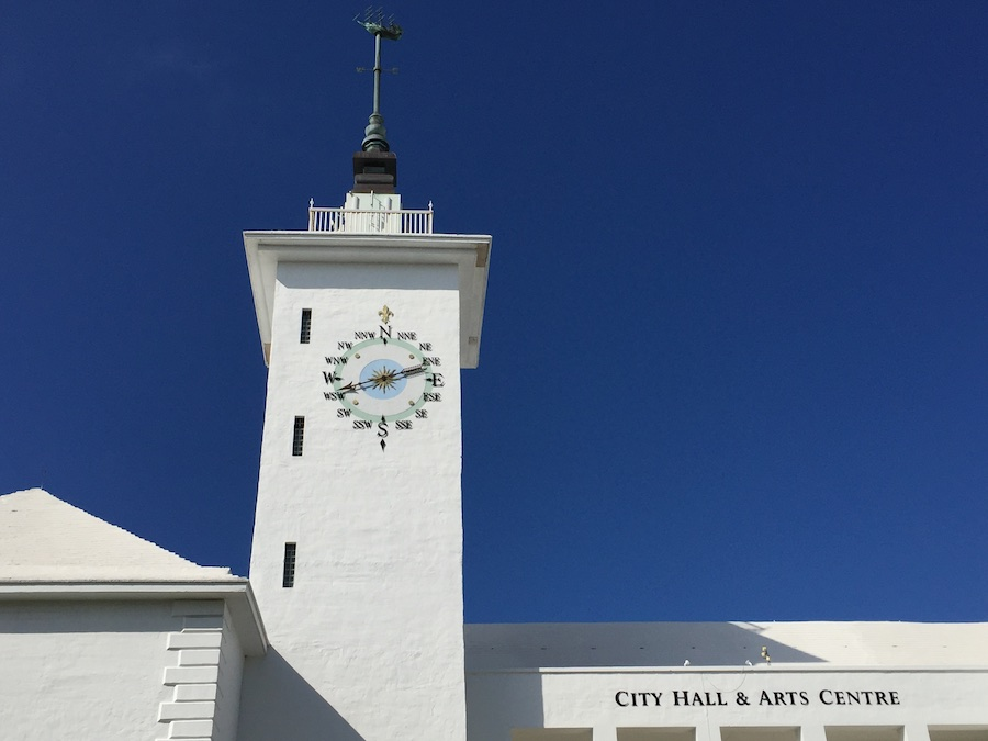 America's Cup Hamilton City Hall wind vane