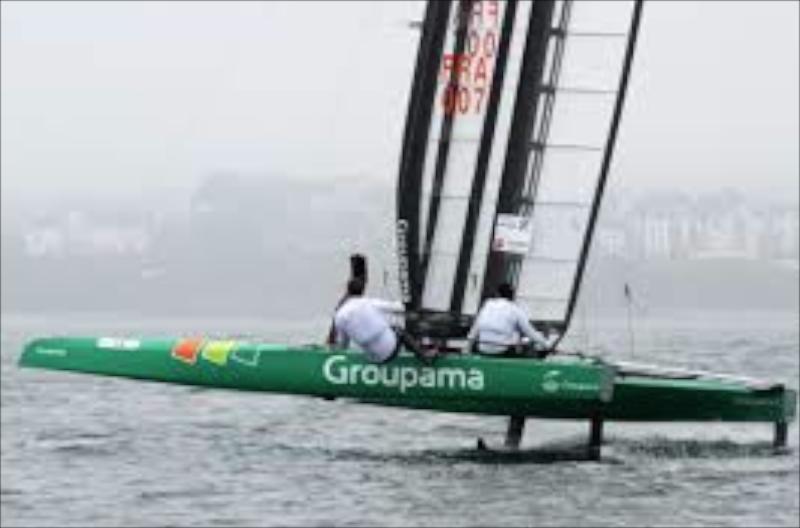 America's Cup Franck Cammas won the 2014 C Class catamaran world championship