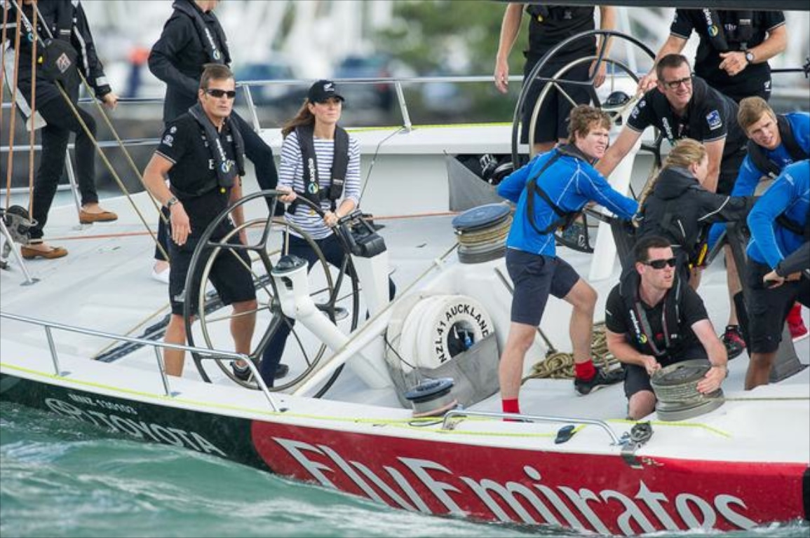 America's Cup Her Royal Highness Catherine