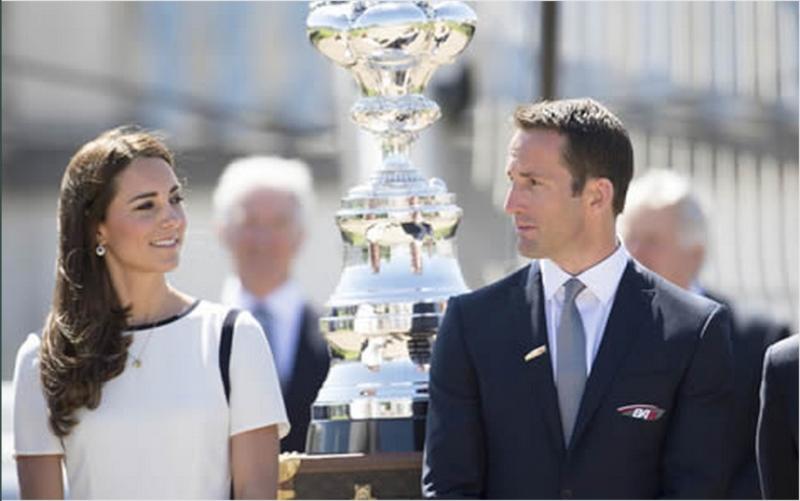 America's Cup The Duchess of Cambridge