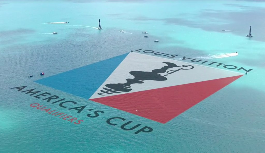Louis Vuitton America's Cup Qualifier Logo